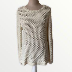 Talbots cream sweater